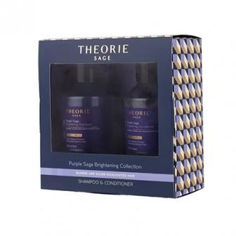 Theorie Purple Sage Brightening Travel Pack