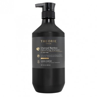 Theorie Charcoal Bamboo Detoxifying Shampoo 400ml
