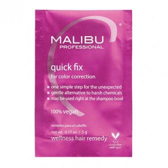 Malibu C Quick Fix Colour Correction Hair Treatment 5g Sachet