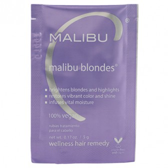 Malibu C Blondes Hair Treatment 1 Piece Sachet