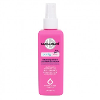 Keracolor Purify Plus Lite Volumising Leave-In Conditioner 207ml