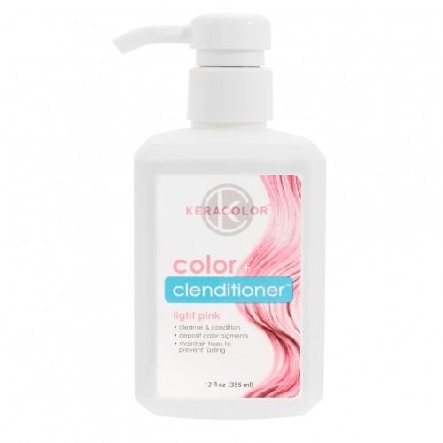 Keracolor Color + Clenditioner Light Pink 355ml