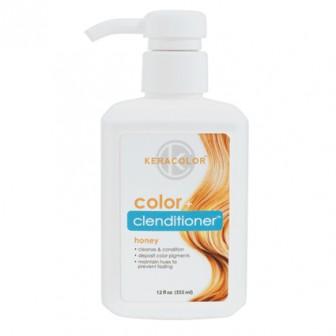 Keracolor Color + Clenditioner Colour Shampoo Honey 355ml