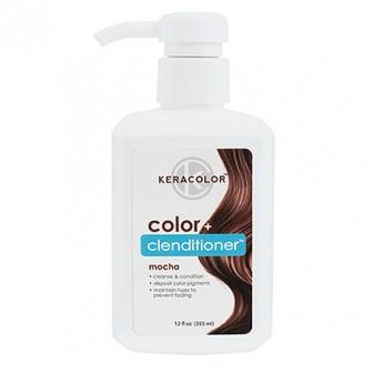 Keracolor Color + Clenditioner Colour Shampoo Mocha 355ml