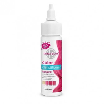 Keracolor Color + Clenditioner Colour Shampoo Hot Pink 59ml