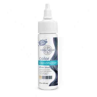 Keracolor Color + Clenditioner Colour Shampoo Silver Blue 59ml